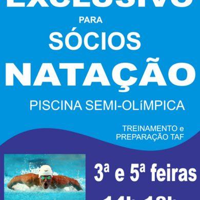 Foto de NATAÇÃO: EXCLUSIVO PARA SÓCIOS