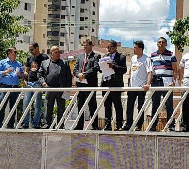Foto de PRESIDENTE DA ASSOF-GO EM DEFESA DO POLICIAL MILITAR NA ASSEMBLEIA LEGISLATIVA DO ESTADO DE GOIÁS.